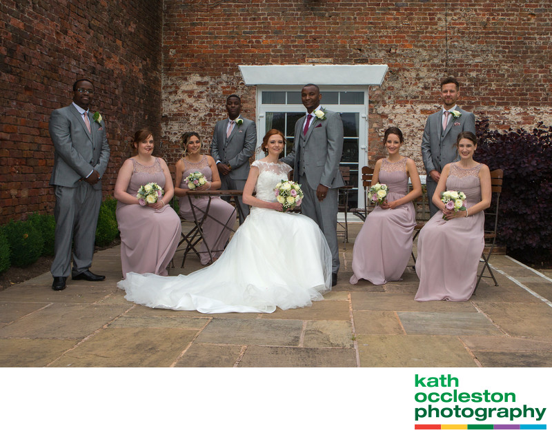The Wedding Party at Singleton Lodge