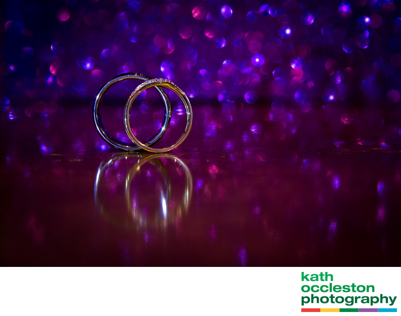 Creative Wedding Ring Photography