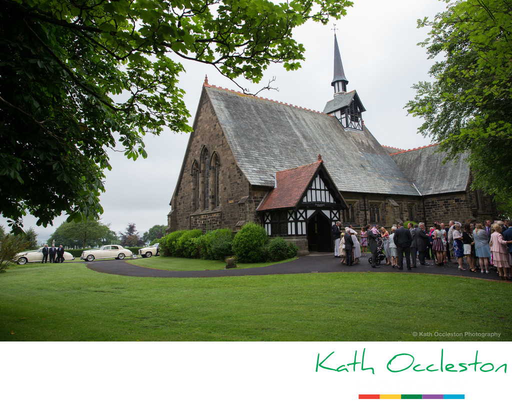 St Peter's Church Salesbury wedding photographer
