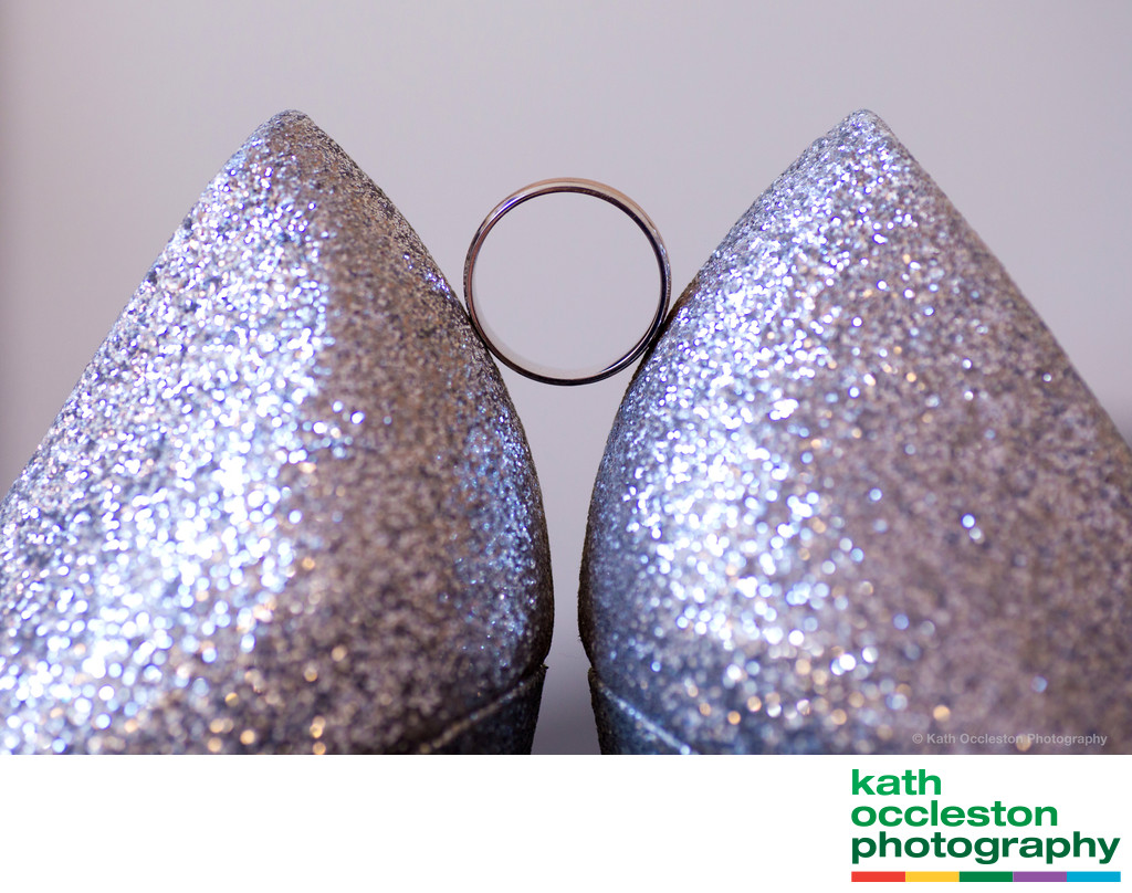 Wedding ring and the shoes