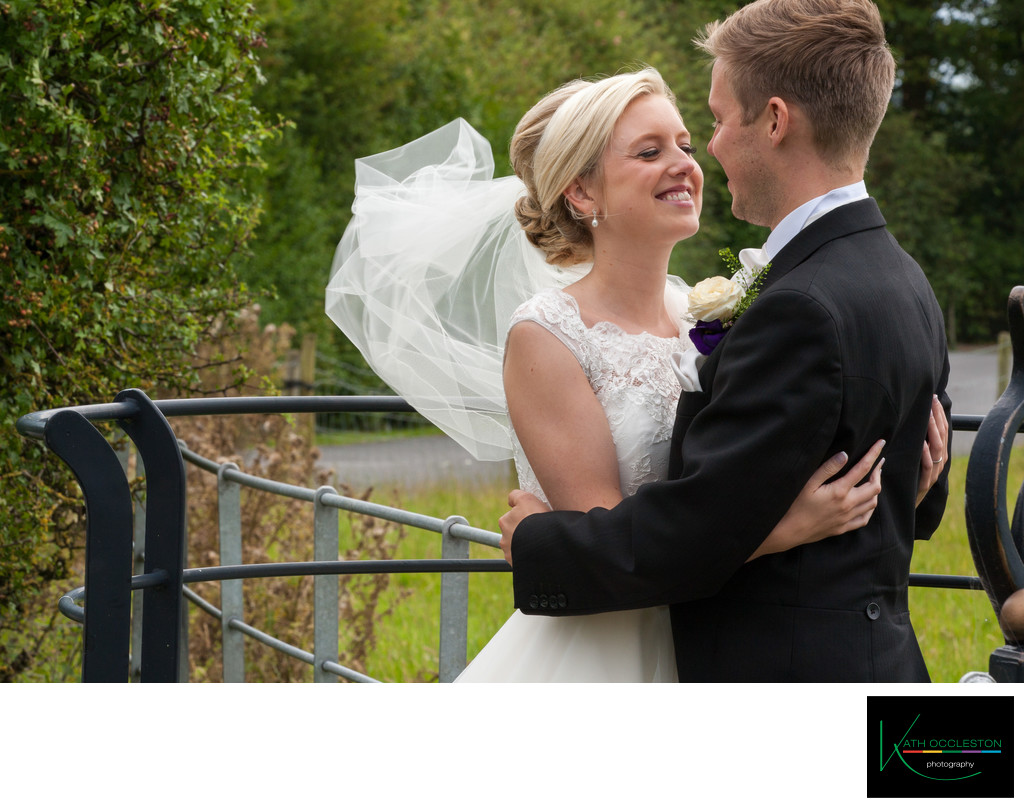 Natural Wedding photos at The Villa, Wrea Green