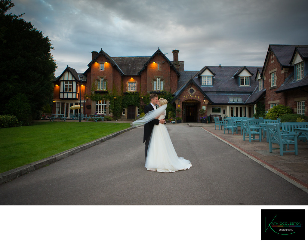 Wedding photographer at the Villa, Wrea Green