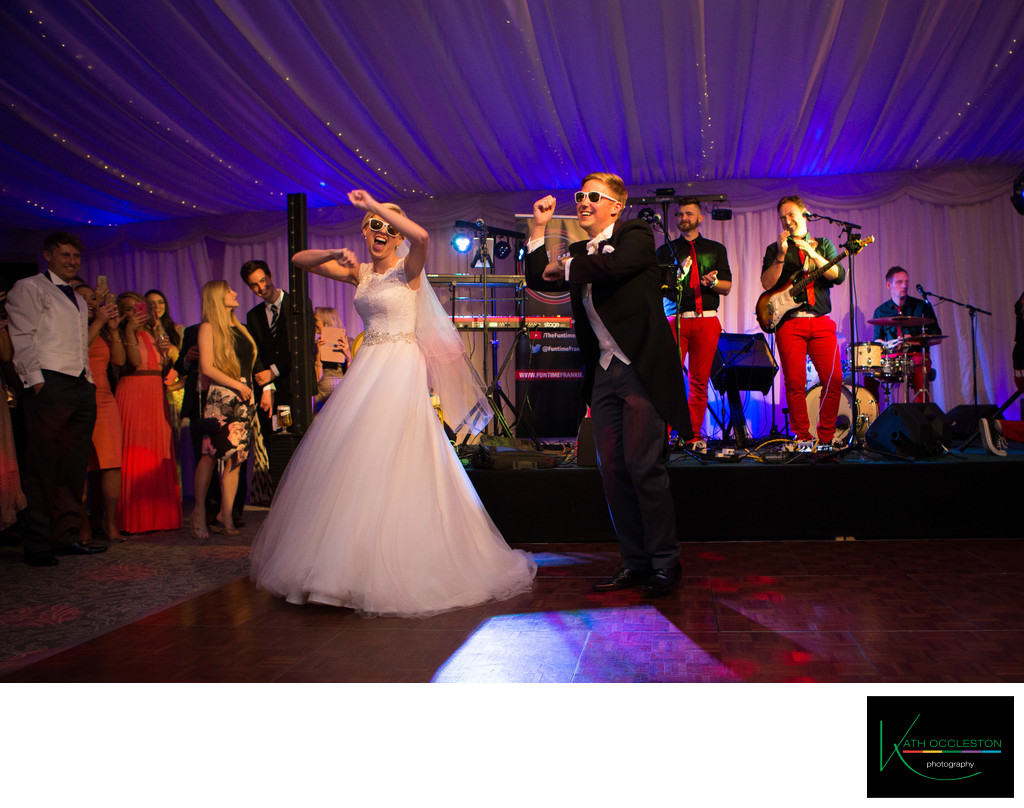 Choreographed first dance at The Villa, Wrea Green