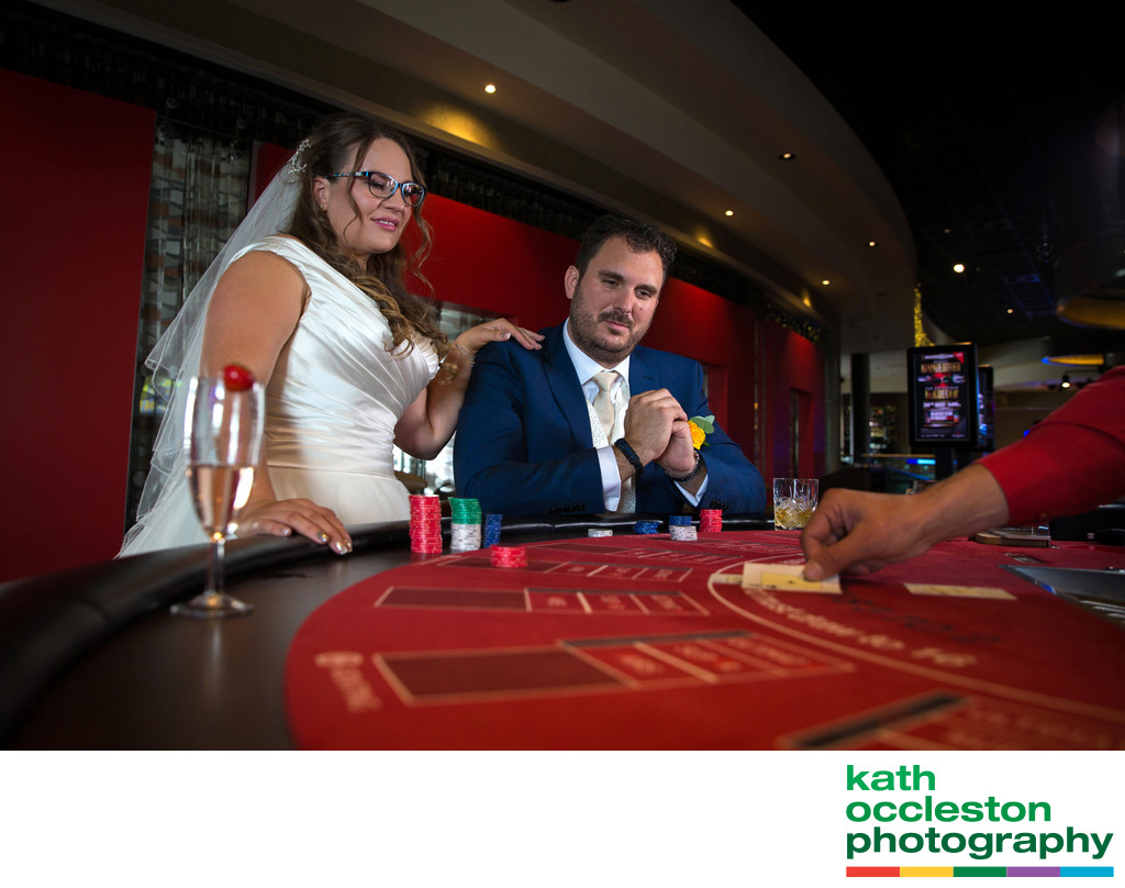 Casino wedding photography, Southport, Lancashire