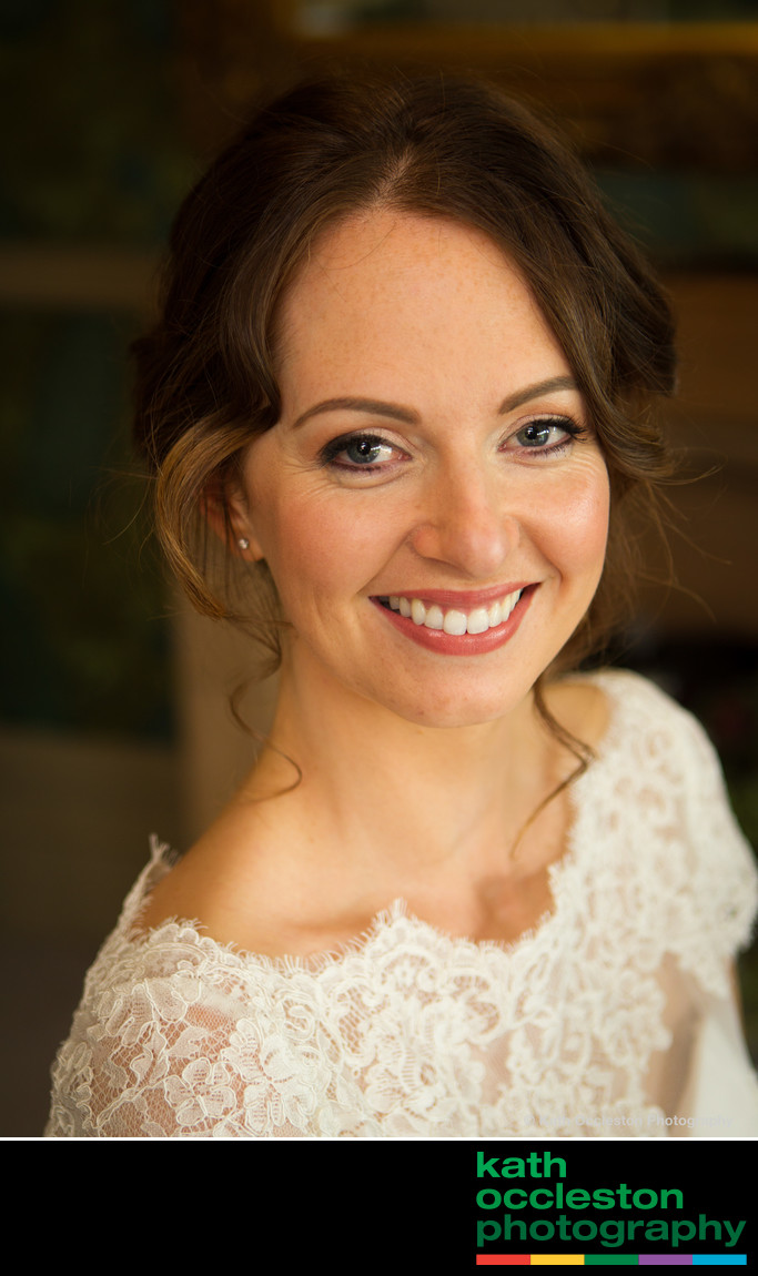 Mitton Hall bridal portrait