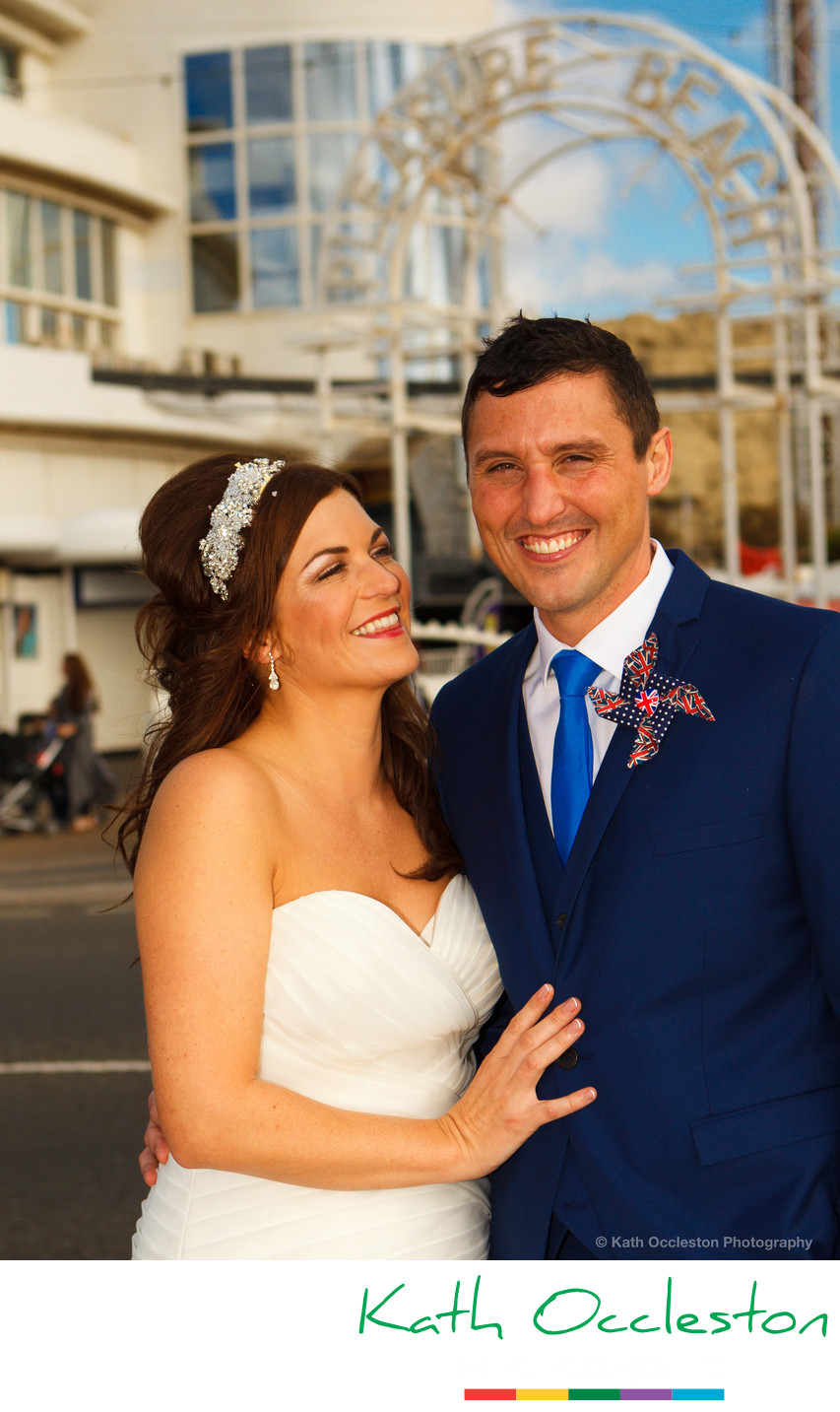 Blackpool Pleasure Beach Wedding