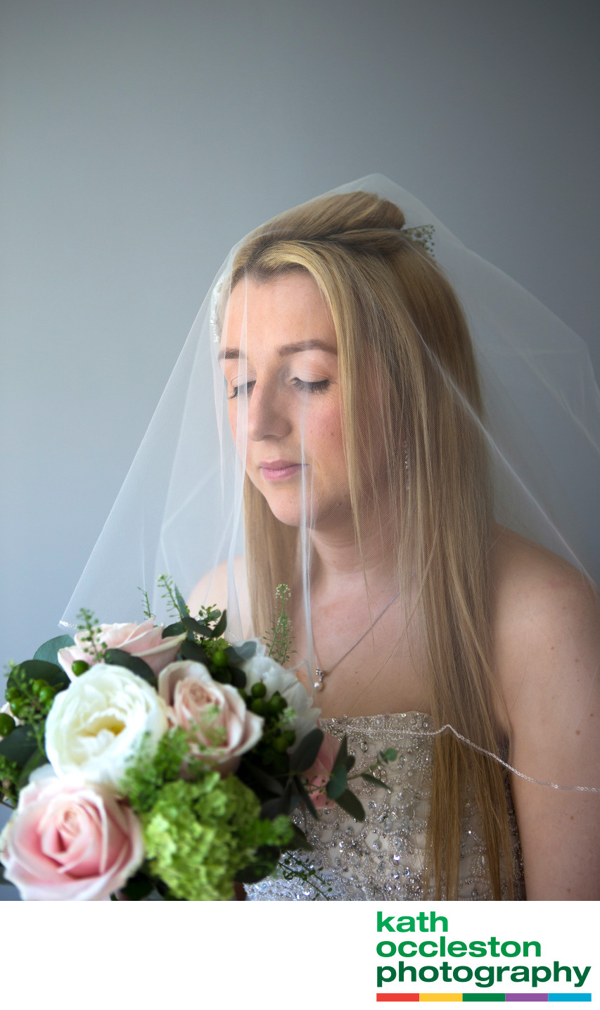 Bridal photograph of Gemma