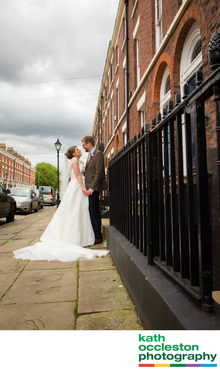 Bride & Groom in Liverpool