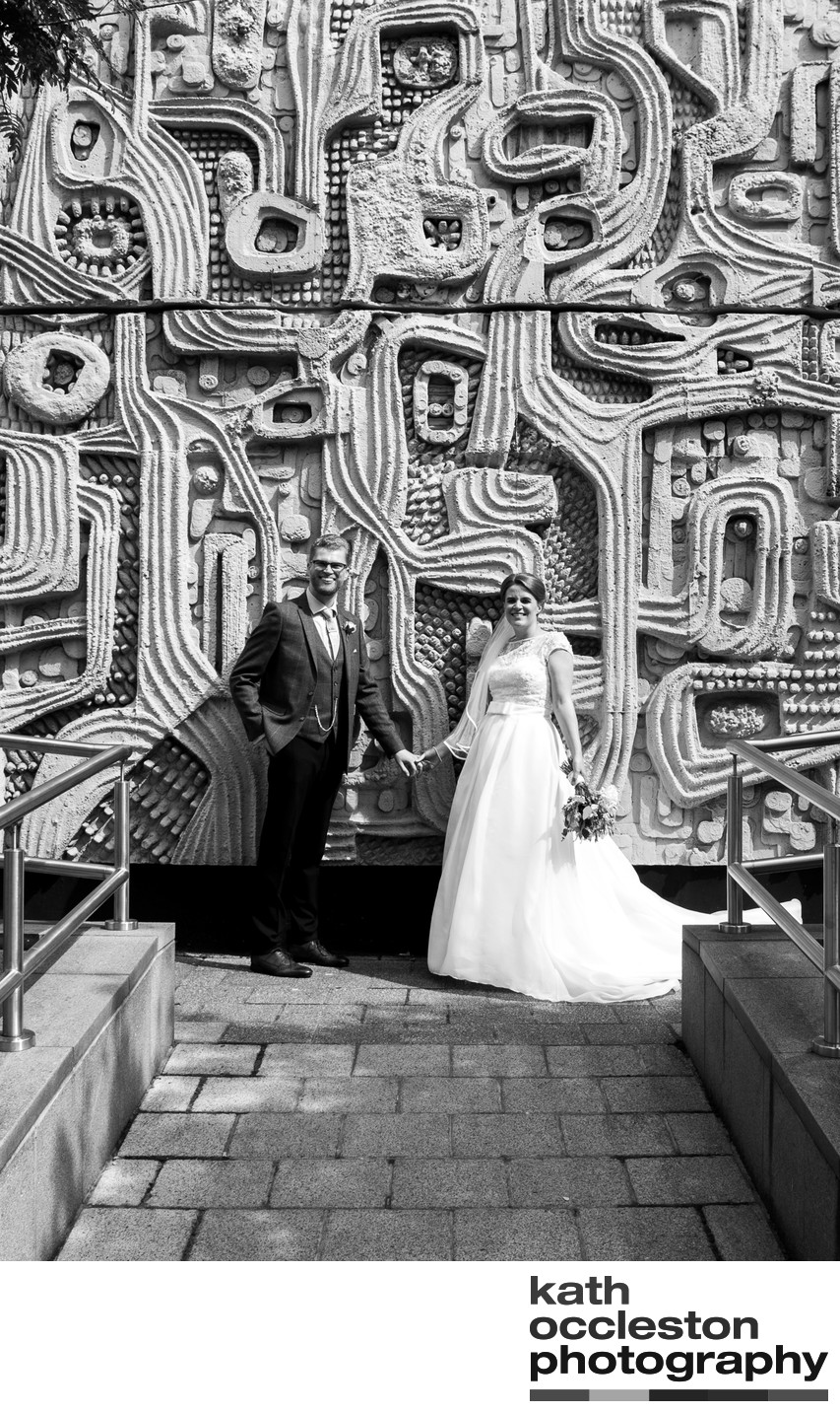 Street wedding photography in Liverpool