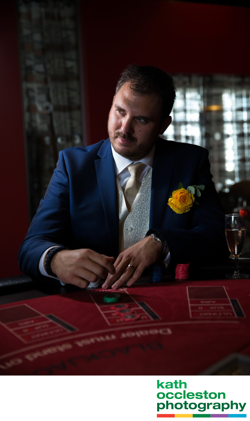 Gambling Groom, Southport Casino
