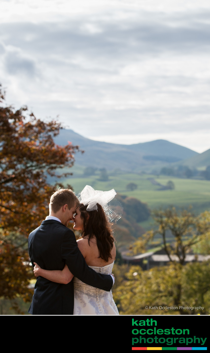 Wedding bliss in the Yorkshire Dales