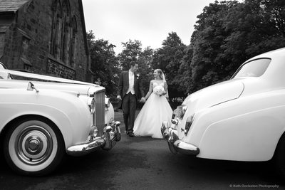 St Peter's church, Salesbury wedding photography