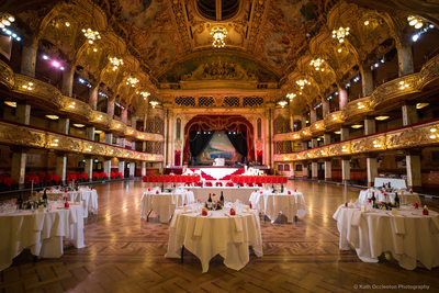 Blackpool Tower Ballroom wedding photography
