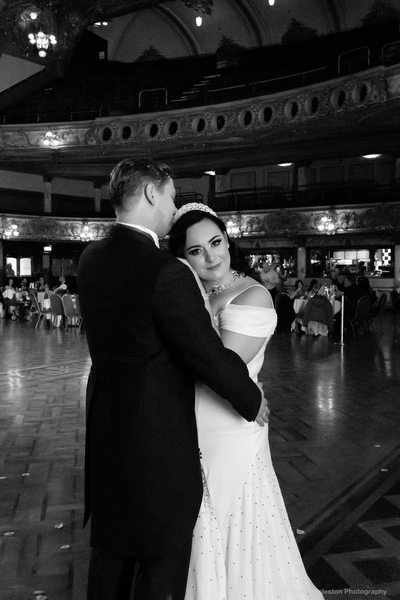 Romantic wedding photography in the Tower Ballroom