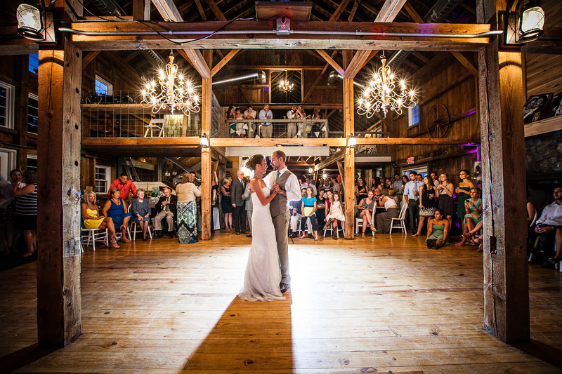 The Barn at Harvest Moon Wedding