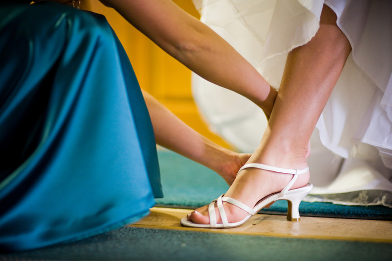 Green Bay Wedding Shoes Photographer