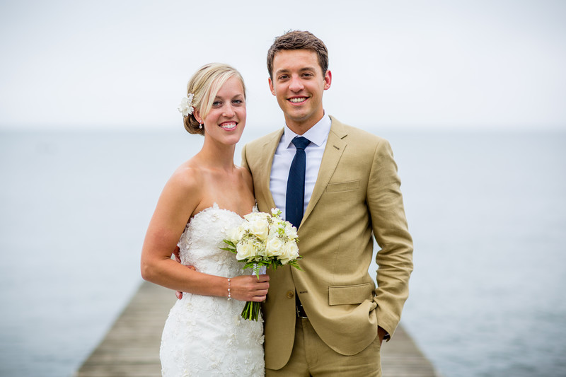 Ashland Wisconsin Lake Superior Wedding Portrait