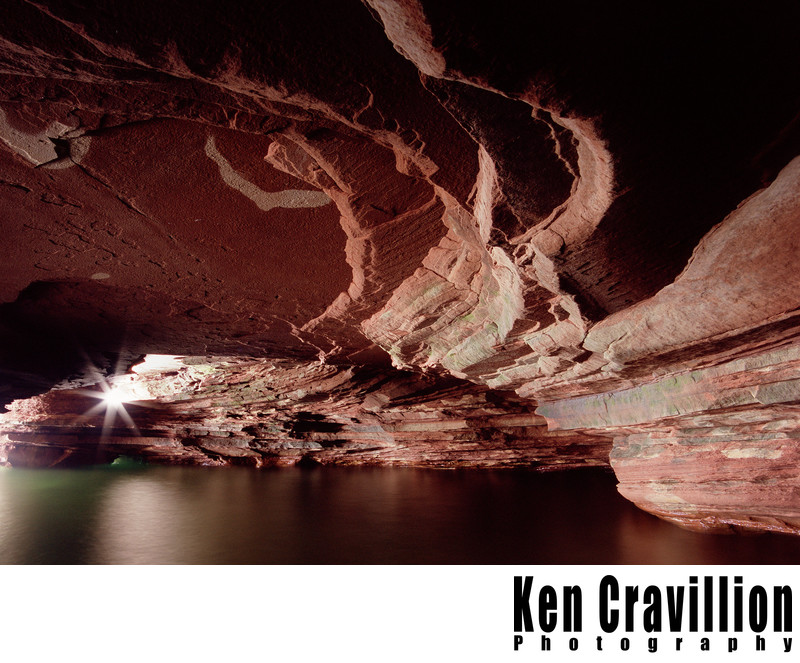 Apostle Islands Sea Cave Wisconsin Lake Superior Photo