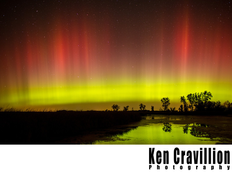 Northern Lights Aurora Wisconsin Photo