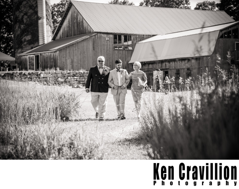 Door County Barn Wedding Photo 22