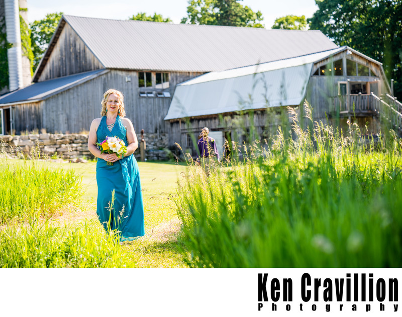 Door County Barn Wedding Photo 24