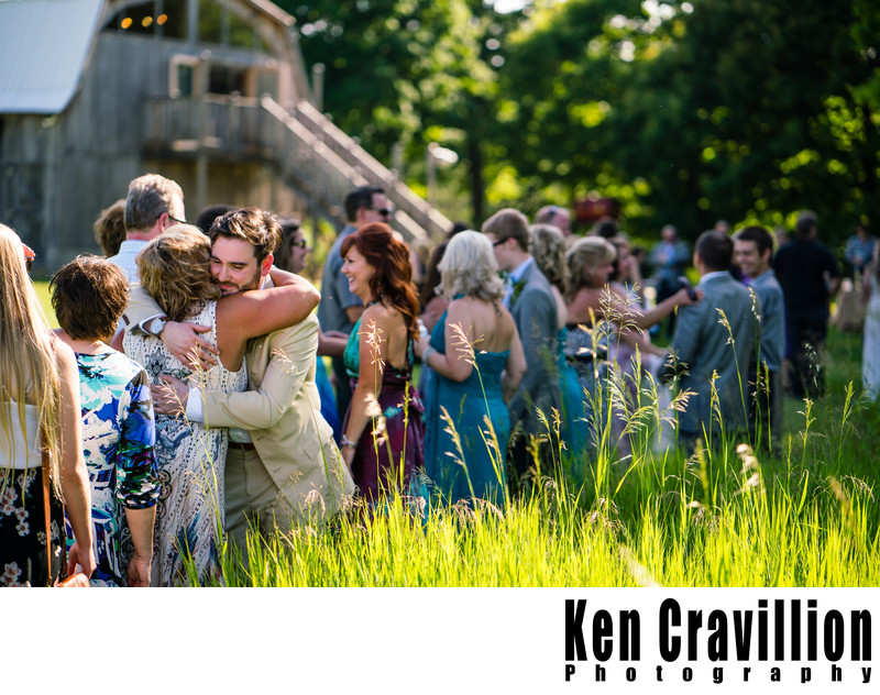 Door County Barn Wedding Photo 38
