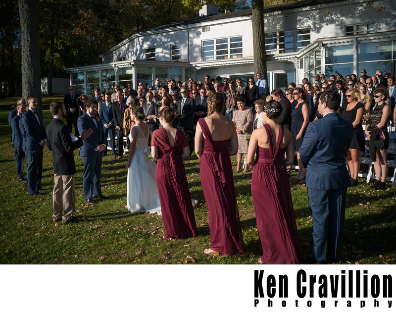 Heidel House Green Lake Fall Wedding Photos 060