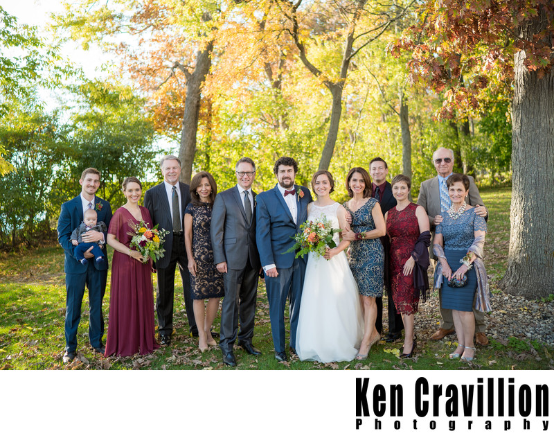 Heidel House Green Lake Fall Wedding Photos 083