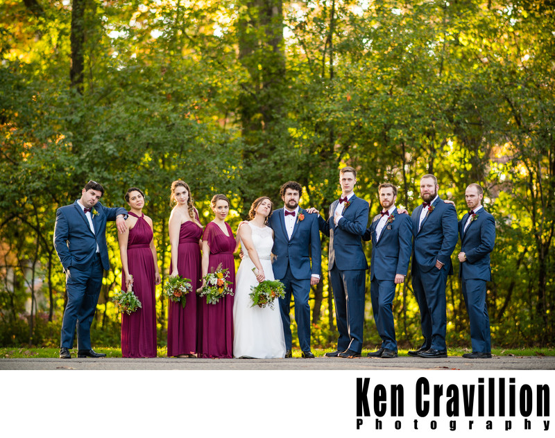 Heidel House Green Lake Fall Wedding Photos 091