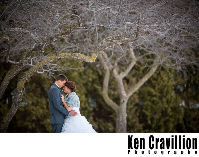 Winter Wedding Photos Oshkosh Wisconsin 052