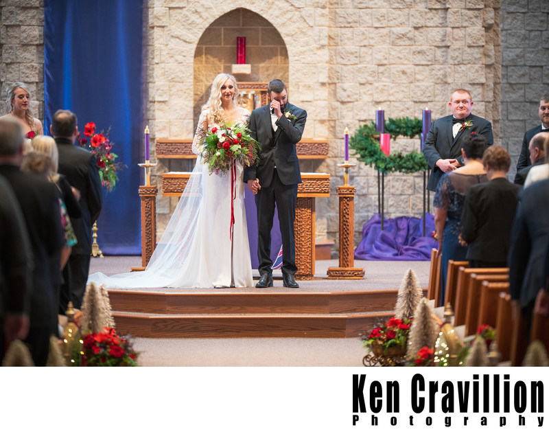 Oshkosh and Green Lake Winter Wedding Photos 045