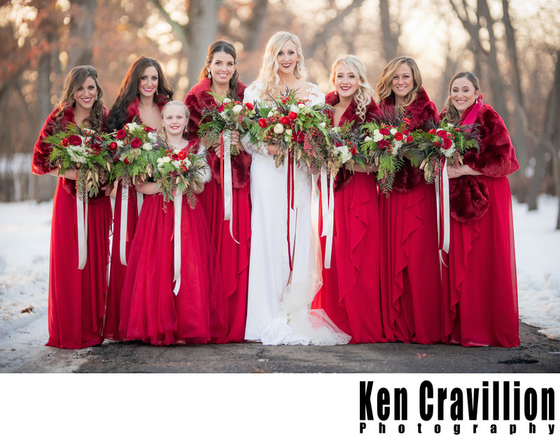 Oshkosh and Green Lake Winter Wedding Photos 080