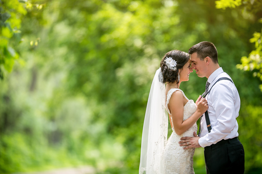 Green Bay Botanical Garden Wedding Photography