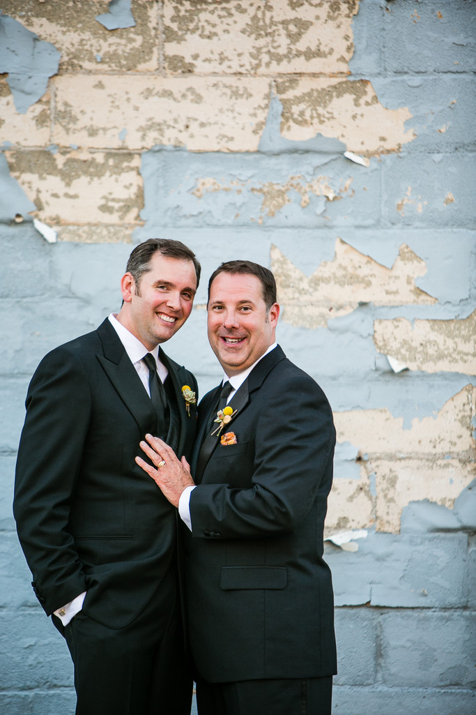 Appleton Wisconsin LGBT Wedding Photography Portrait