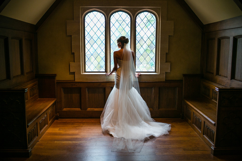 Paine Art Center Bridal Portrait Photo
