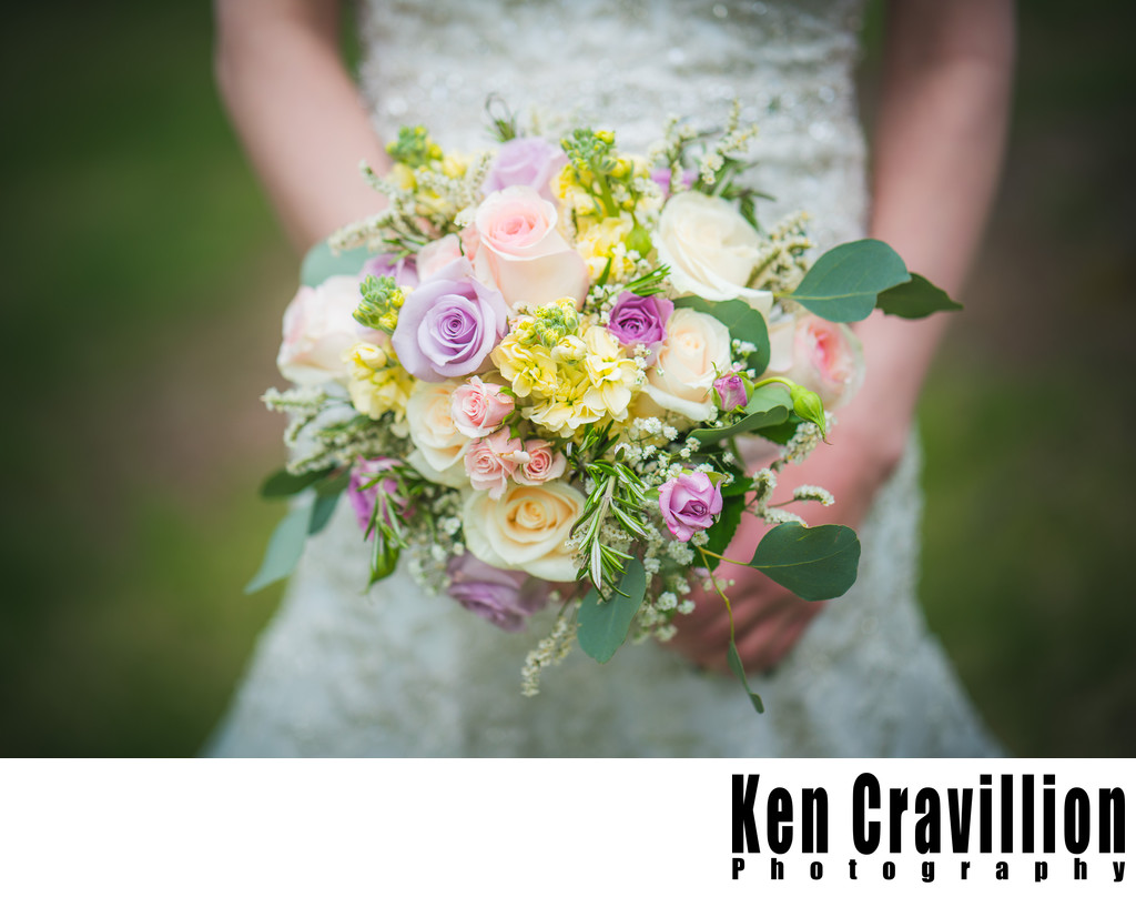 Heidel House Wedding Flowers Photo