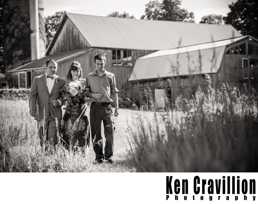 Door County Barn Wedding Photo 26