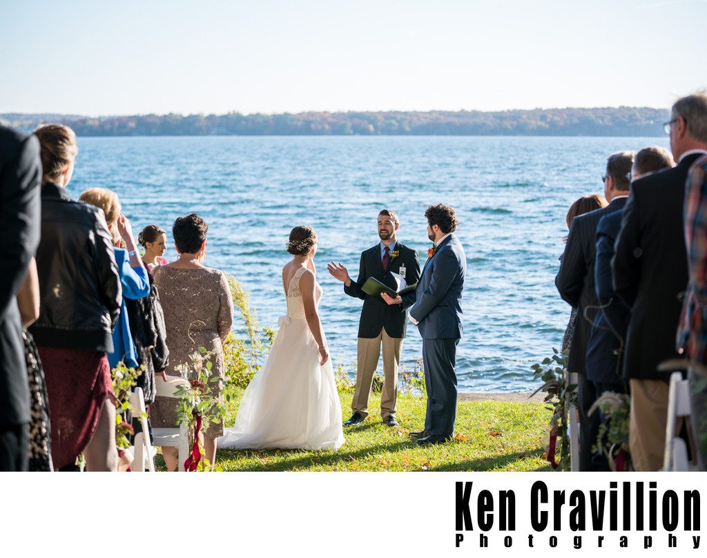 Heidel House Green Lake Fall Wedding Photos 062