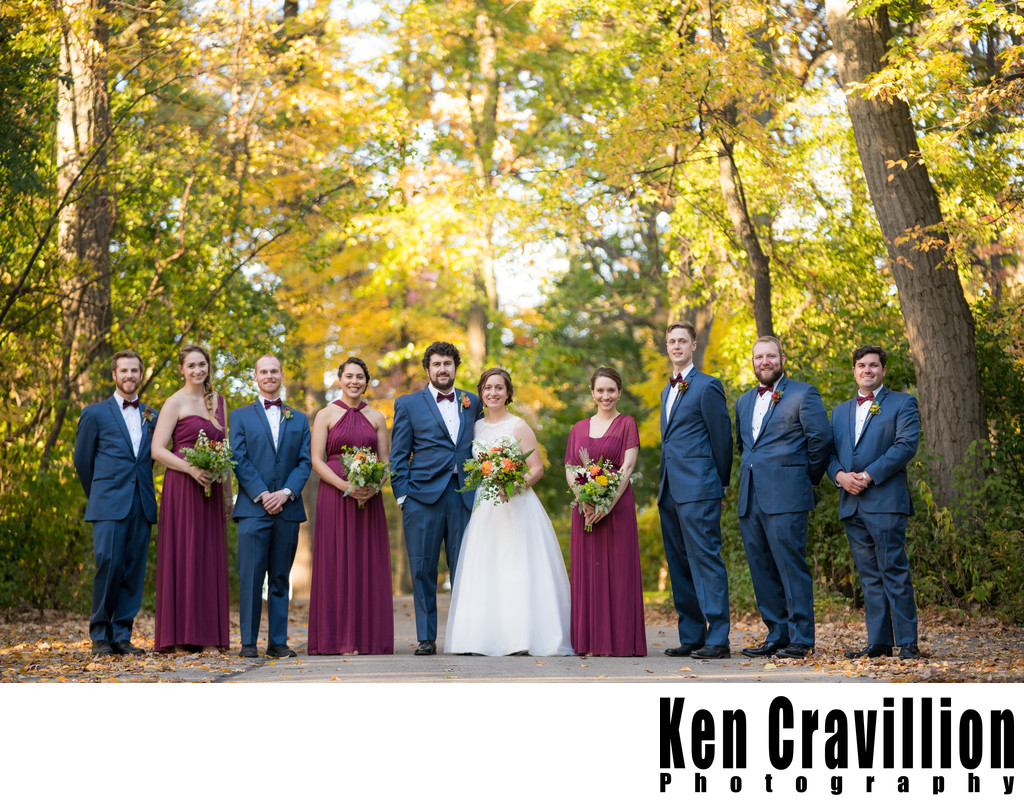 Heidel House Green Lake Fall Wedding Photos 088