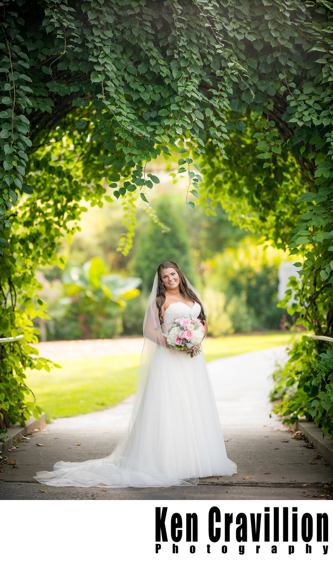 Botanical Garden Wedding in Green Bay Photos 091
