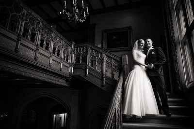 Paine Art Center Oshkosh Wedding Photography 002