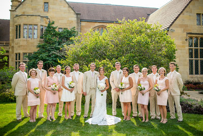 Paine Art Center Oshkosh Wedding Photography 009