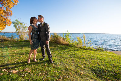Heidel House Green Lake Fall Wedding Photos 087