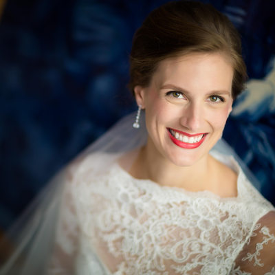 Luisa bridal portrait at Architectural Artifacts