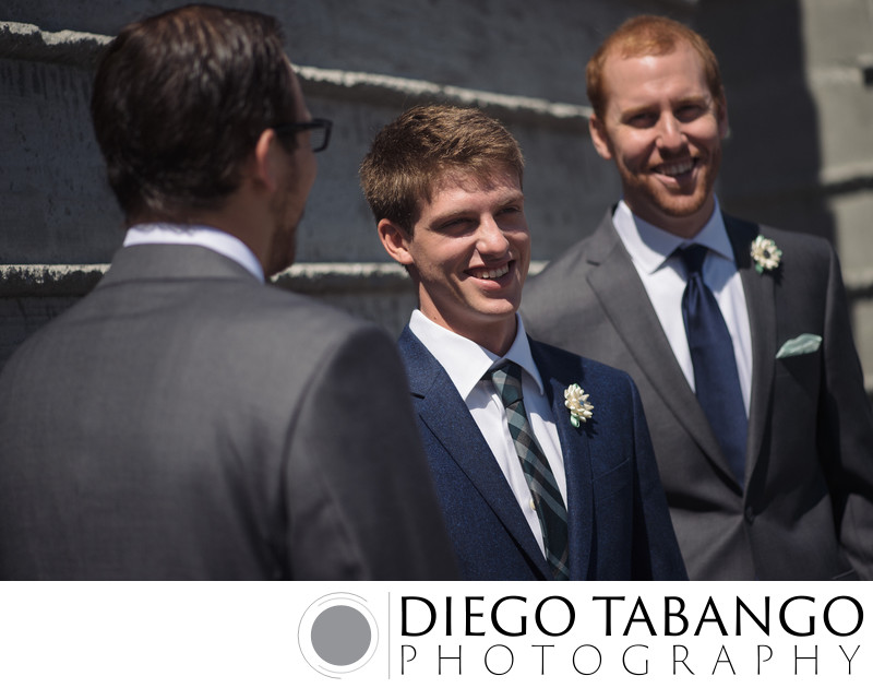 Groomsmen Wedding Photographs in Santa Cruz