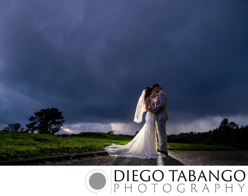 Carmel Valley Bride and Groom