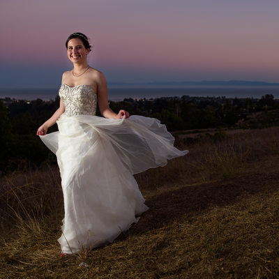 Top Bridal Portrait in Santa Cruz