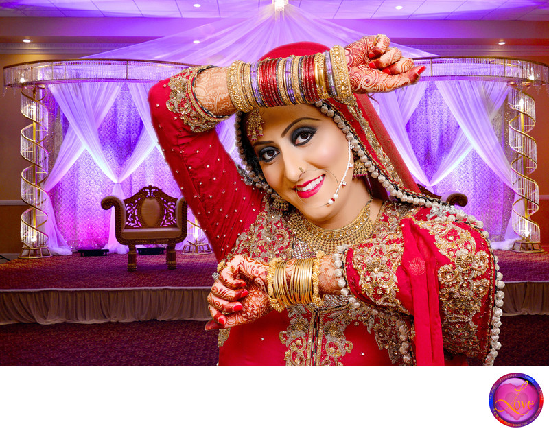 Indian Pakistani Wedding Photographer Bride at Occasion