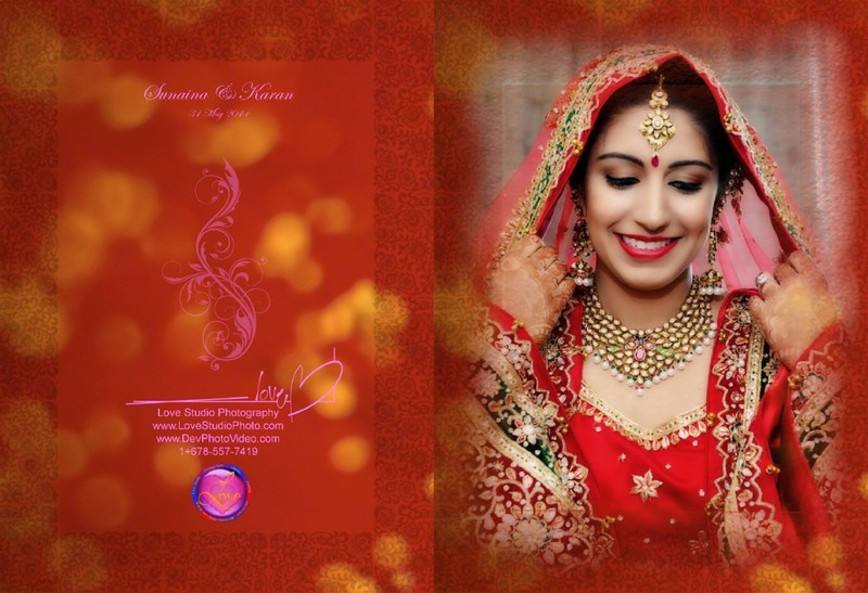 Indian Wedding Album Photographer Atlanta