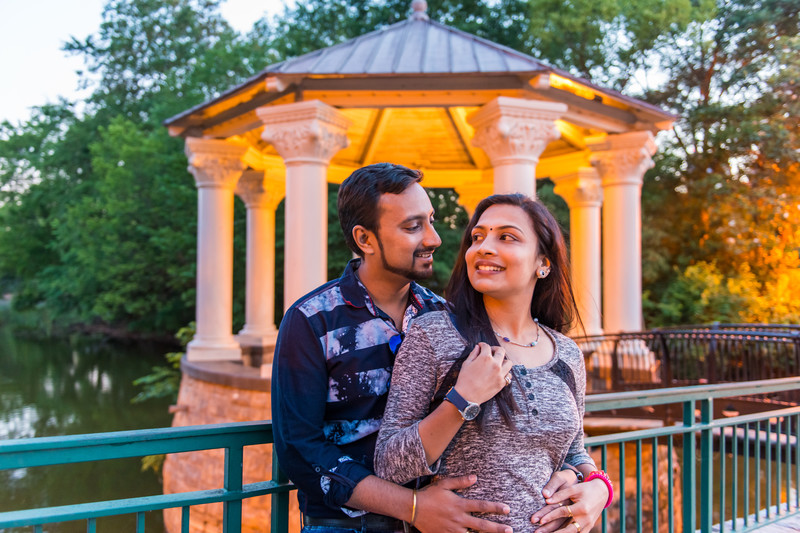 Atlanta Wedding Photographer Indian Engagement Piedmont